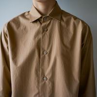 air tumbler cotton/modest stitch shirt/brown/size1
