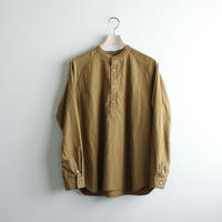 weather cloth/raglan shirt/brown/size2(MAN)