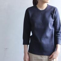 miranoribu cotton/seven sleeves cutsew /navy