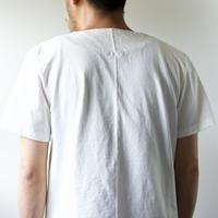 pablo cotton/center back tshirt / white/size3