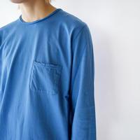 pj cotton 25s/ pocket cut off  t-shirt/blue/size1・2
