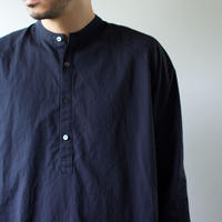 weather cloth /raglan shirt/navy/size2(MAN)