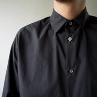 air tumbler cotton/modest stitch shirt/black/size2(MAN)