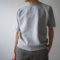hanging sweat shirt/half sleeve/gray