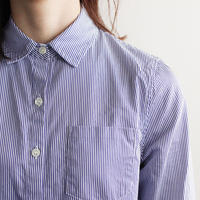 stripe shirt /blue×white