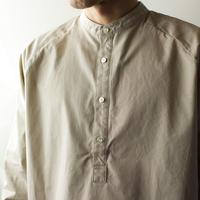 weather cloth /raglan shirt/beige/size2(MAN)