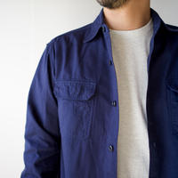 cotton ox work shirt/navy/size3