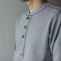 miranoribu cotton/ henley neck cutsew /gray/size3