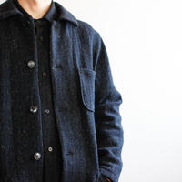 Lomond stand fall collar coat/ navy/size2(MAN)