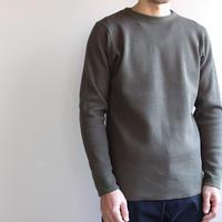 honeycombcotton tops/khaki/size2(MAN)