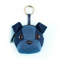 パンダ/犬/デニム/小さい物収納可能ストラップ
