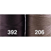 <136色・黒グレー系>Linhasita社製ワックスコード0.75mm(ロウビキ紐・蝋引き紐 ・waxcord)
