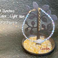アンクレット『#Synchro』【Light blue】