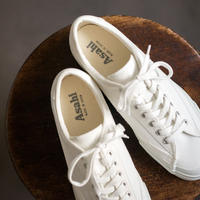 ASAHI BELTED LOW CANVAS  /  -  WHITE