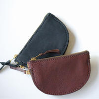 <Last 1> Leather Wallet /  Halfmoon