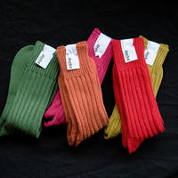 decka / Cased heavy weight plain socks