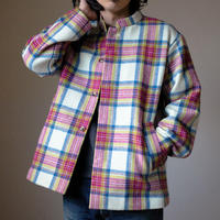 TailorTheDress / Harristweed Mao-collar Coverall with Vintage railway Uniform Button(Men's)