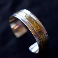 Touareg Silver Bngle / 10