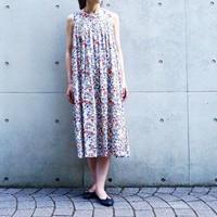 < 再入荷 > Tailor The Dress / フラワープリント ノースリワンピース - IVORY
