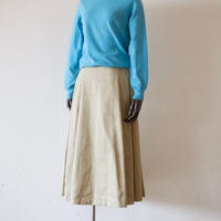 Tailor the Dress / Tuck Volume Skirt - Beige