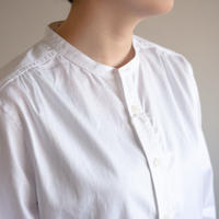 Handwerker /  collerless shirt - White
