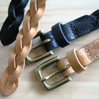 <Last 1> Leather mesh Belt (1.5cm)