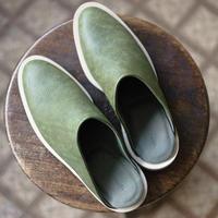 〈再入荷〉ISHMM / SABOT - GREEN(Men's)