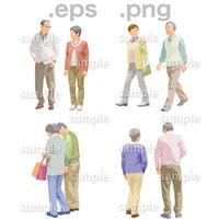 シニアイラスト (EPS , PNG )   se_116