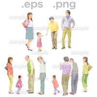 シニアイラスト (EPS , PNG )   se_098