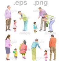シニアイラスト (EPS , PNG )   se_106