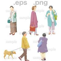 シニアイラスト (EPS , PNG )   se_071