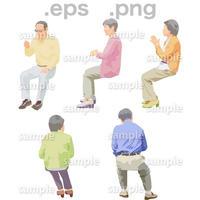 シニアイラスト (EPS , PNG )   se_174