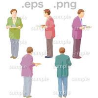 シニアイラスト (EPS , PNG )   se_064
