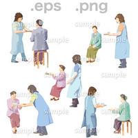 シニアイラスト (EPS , PNG )   se_036