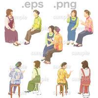 シニアイラスト (EPS , PNG )   se_033