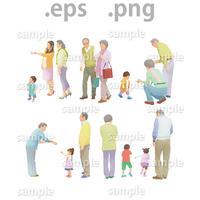 シニアイラスト (EPS , PNG )   se_011