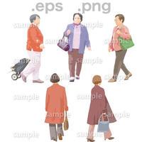 シニアイラスト (EPS , PNG )   se_067