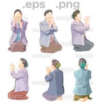 シニアイラスト (EPS , PNG )   se_081
