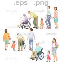 シニアイラスト (EPS , PNG )   se_198
