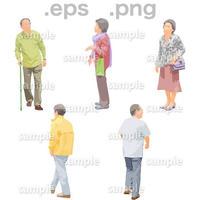 シニアイラスト (EPS , PNG )   se_130