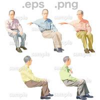 シニアイラスト (EPS , PNG )   se_056