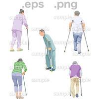 シニアイラスト (EPS , PNG )   se_245