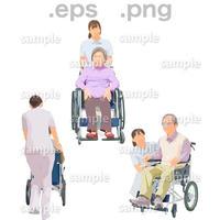 シニアイラスト (EPS , PNG )   se_216