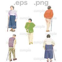 シニアイラスト (EPS , PNG )   se_042