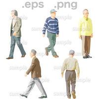 シニアイラスト (EPS , PNG )   se_049