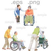 シニアイラスト (EPS , PNG )   se_208