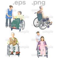 シニアイラスト (EPS , PNG )   se_082