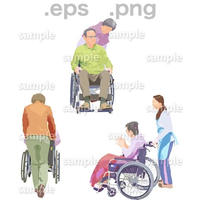 シニアイラスト (EPS , PNG )   se_210