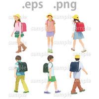 子供イラスト (EPS , PNG )   ch_016