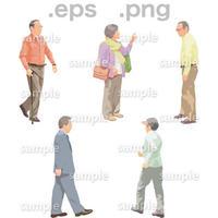 シニアイラスト (EPS , PNG )   se_129